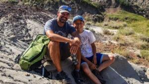 ألبرتا: طفل في سنّ الثانية عشرة يشارك في اكتشاف هيكل عظمي لديناصور