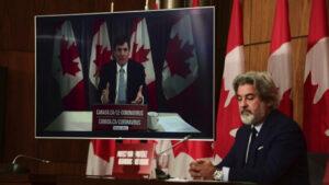 ألواح بليكسيغلاس في مجلس العموم الكندي لضمان التباعد الجسدي