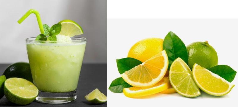 عصير الليمون بالنعناع