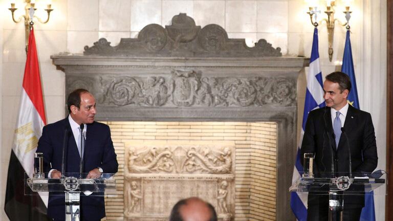 مصر واليونان تنشئان تحالفا مناهضا لتركيا في عمق أردوغان