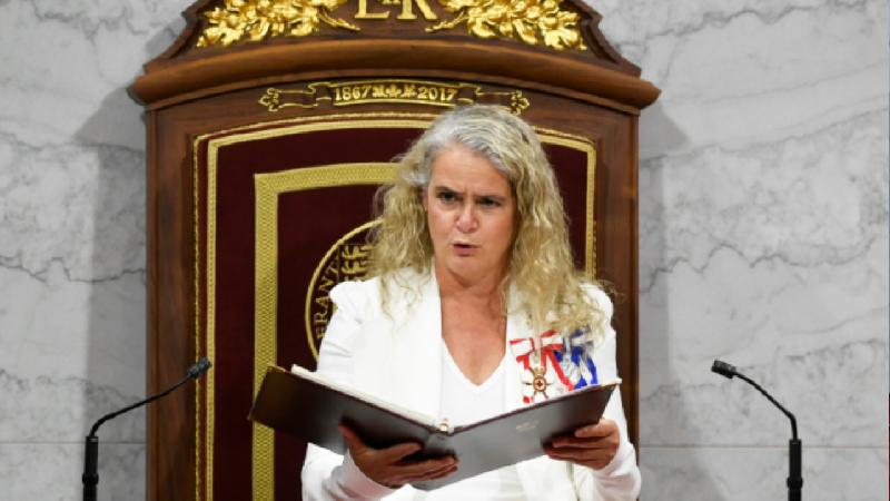 استقالة حاكمة كندا العامة جولي باييت