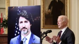رئيس الحكومة ترودو والرئيس الأميركي بايدن يبحثان في عدد من القضايا الثنائيّة